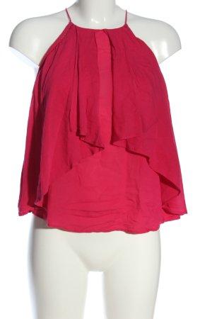 Mango Carmen Blouse pink casual look