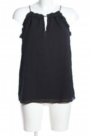 Mango casual Top linea A nero stile professionale
