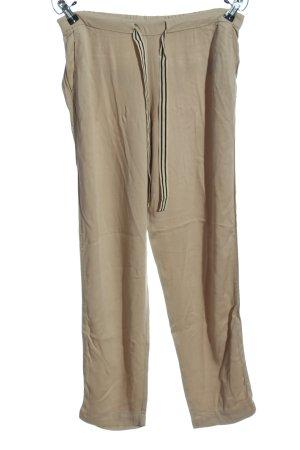 Mango casual Pantalon «Baggy» brun style décontracté