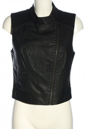 Mango casual Biker Vest black casual look