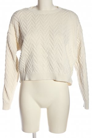 Mango casual Cropped Pullover wollweiß Casual-Look