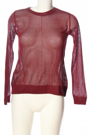 Mango casual Feinstrickpullover rot Casual-Look