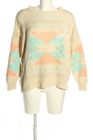 Mango casual Coarse Knitted Sweater allover print casual look