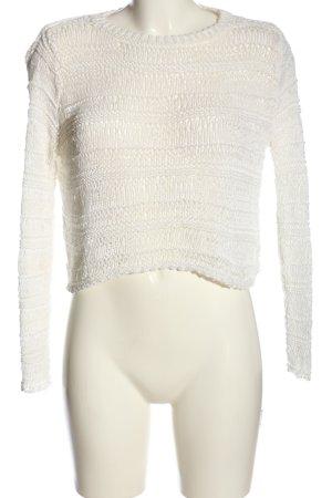 Mango casual Crochet Shirt white casual look