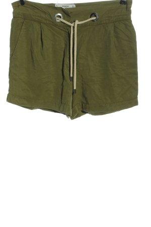 Mango casual High-Waist-Shorts khaki Casual-Look