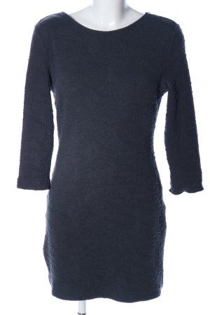Mango casual Jerseykleid blau Allover-Druck Casual-Look