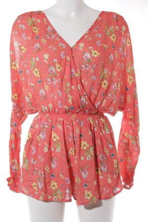 Mango casual Jumpsuit florales Muster Casual-Look