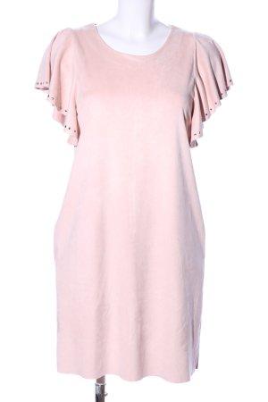 Mango casual Kurzarmkleid pink Elegant