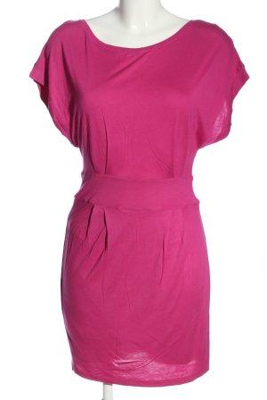 Mango casual Kurzarmkleid pink Casual-Look