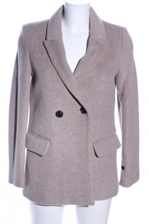 Mango casual Manteau court gris clair style d'affaires