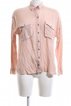 Mango casual Langarm-Bluse nude Webmuster Casual-Look