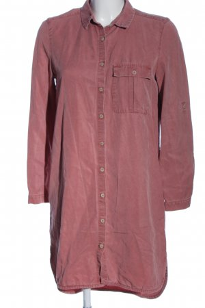 Mango casual Robe chemise rose style décontracté