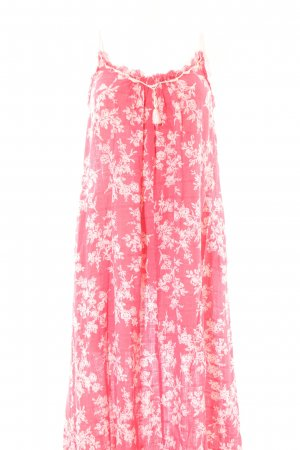 Mango casual Maxi Dress red-white allover print casual look