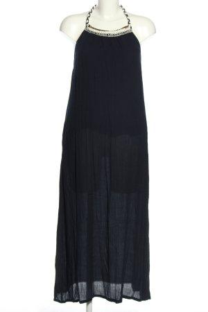 Mango casual Sukienka z dekoltem typu halter czarny W stylu casual