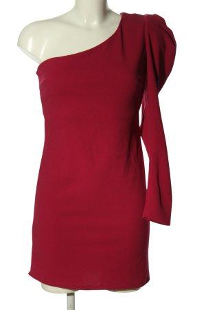 Mango casual One-Shoulder-Kleid rot Elegant