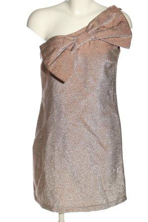 Mango casual One-Shoulder-Kleid bronzefarben-hellgrau Elegant