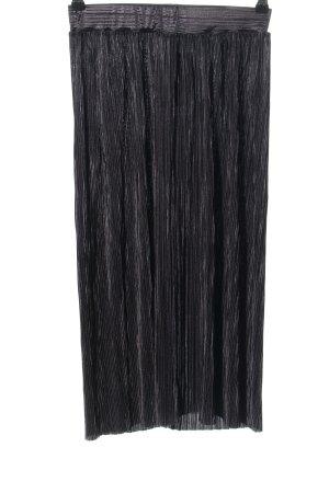 Mango casual Jupe plissée noir style décontracté