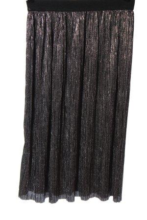 Mango casual Plisowana spódnica srebrny Elegancki