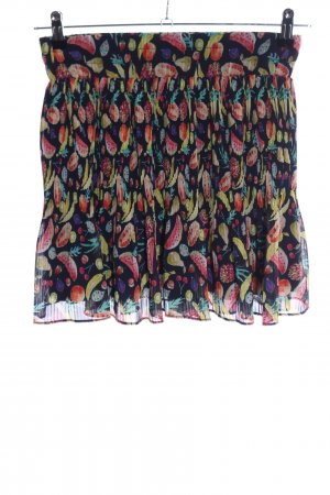 Mango casual Pleated Skirt allover print casual look