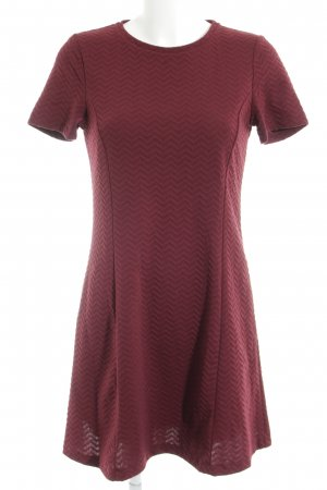 Mango casual Shirtkleid rot Allover-Druck Casual-Look