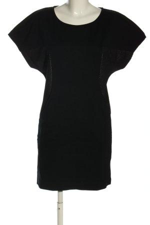 Mango casual Shirtkleid schwarz Business-Look