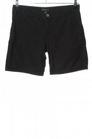 Mango casual Shorts schwarz Casual-Look