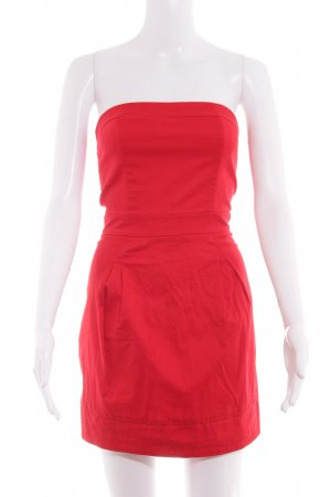 Mango Casual Sportswear Bandeaukleid hellrot-rot Casual-Look