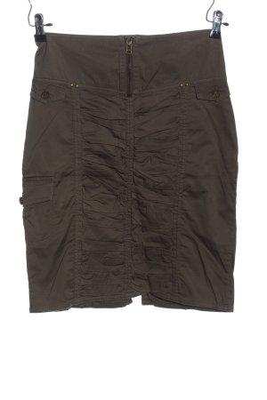 Mango Casual Sportswear Bleistiftrock braun Casual-Look