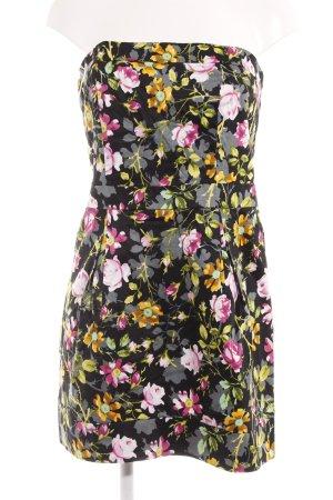 Mango Casual Sportswear Cocktailkleid florales Muster Vintage-Look