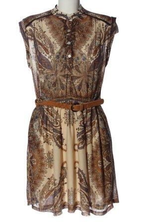 Mango Casual Sportswear Vestido Hippie estampado con diseño abstracto