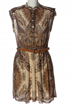 Mango Casual Sportswear Robe Hippie motif abstrait style décontracté
