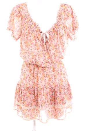 Mango Casual Sportswear Jerseykleid Allover-Druck Casual-Look