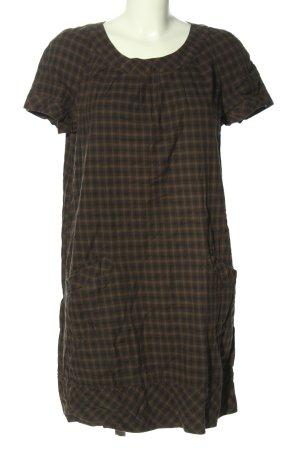 Mango Casual Sportswear Minikleid braun Allover-Druck Elegant