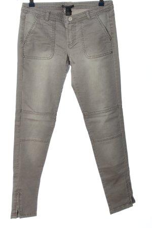Mango Casual Sportswear Tube jeans lichtgrijs casual uitstraling
