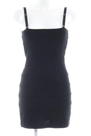 Mango Casual Sportswear Schlauchkleid schwarz Casual-Look