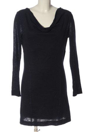 Mango Casual Sportswear Sukienka z dzianiny czarny Warkoczowy wzór