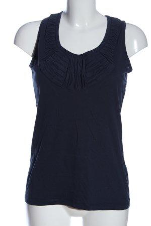 Mango Casual Sportswear Trägertop blau Casual-Look