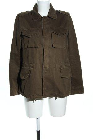 Mango Casual Sportswear Übergangsjacke khaki Casual-Look