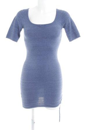 Mango Casual Sportswear Woolen Dress steel blue casual look
