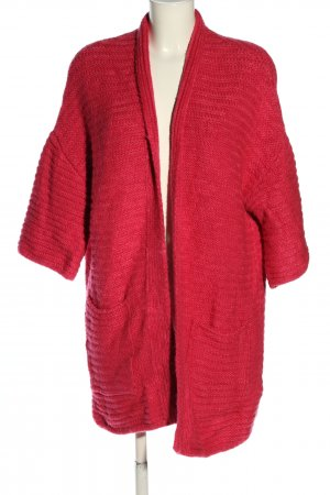 Mango casual Knitted Coat red casual look