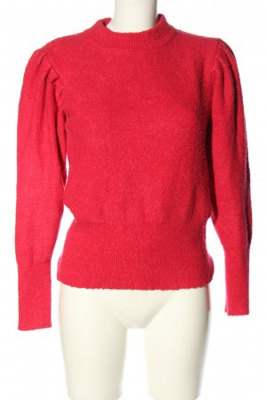 Mango casual Strickpullover pink Casual-Look