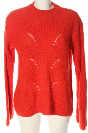 Mango casual Strickpullover rot Casual-Look