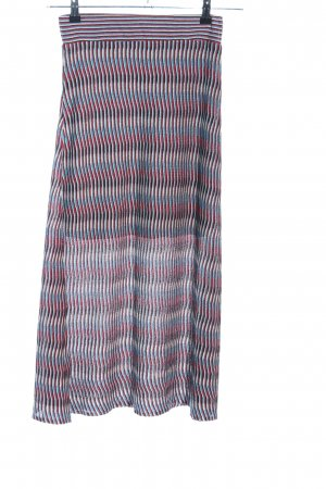 Mango casual Knitted Skirt striped pattern casual look