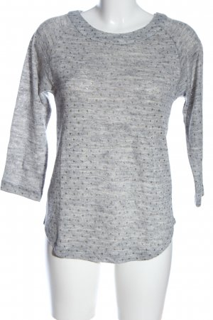 Mango casual Knitted Jumper light grey flecked casual look
