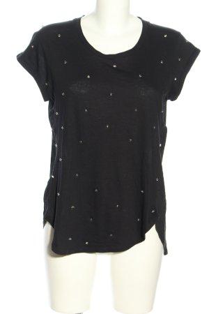 Mango casual T-Shirt schwarz Casual-Look