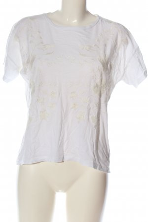 Mango casual T-Shirt weiß Casual-Look
