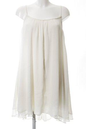 Mango casual Flounce Dress natural white casual look