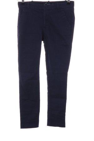 Mango Chino blauw zakelijke stijl