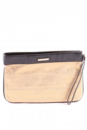 Mango Clutch creme-schwarz Casual-Look