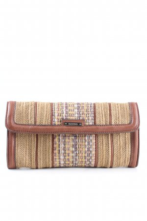 Mango Clutch nude-braun Allover-Druck Casual-Look